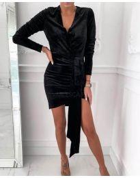 Obleka - koda 62688 - 2 - črna