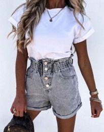 Kratke hlače - koda 5301 - 3 - siva