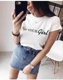 Majica - koda 3580 - 1 - bela