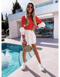 Obleka - koda 5024 - 8 - rdeča