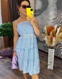 Obleka - koda 14777 - 1 - svetlo modra