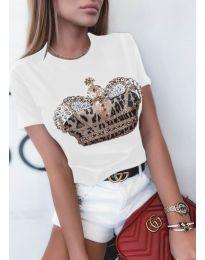 Majica - koda 4648 - bela