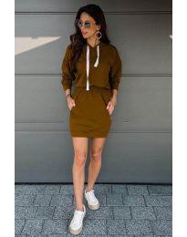 Obleka - koda 999 - rjava