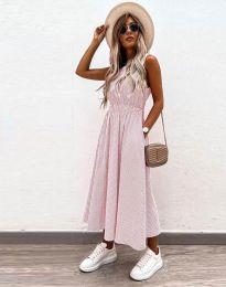 Obleka - koda 2687 - svetlo roza