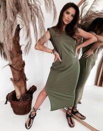 Obleka - koda 11996 - olivna