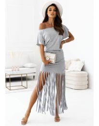 Obleka - koda 12003 - siva