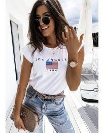 Majica - koda 6336 - 1 - bela