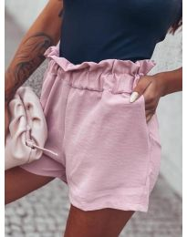 Kratke hlače - koda 4747 - roza