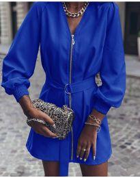 Obleka - koda 820 - modra
