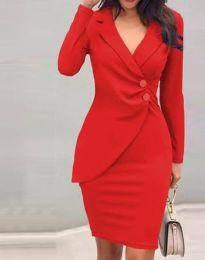 Obleka - koda 2431 - rdeča