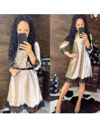 Obleka - koda 1426 - svetlosiva