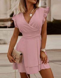 Obleka - koda 5654 - roza