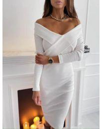 Obleka - koda 6130 - bela