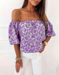 Bluza - koda 2708 - vijolična