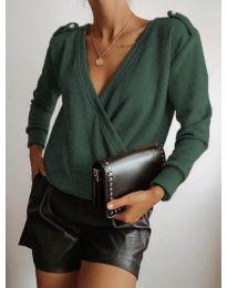 Bluza - koda 294 - тъмно зелен