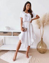 Obleka - koda 11893 - bela