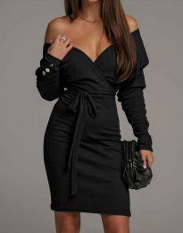 Obleka - koda 4765 - črna