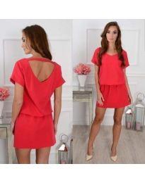 Obleka - koda 382 - rdeča