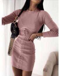 Obleka - koda 4453 - 1 - puder