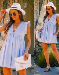 Obleka - koda 7141 - svetlo modra