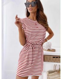 Obleka - koda 6634 - rdeča