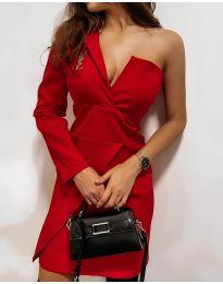 Obleka - koda 7128 - rdeča