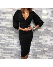 Obleka - koda 8706 - 1 - črna
