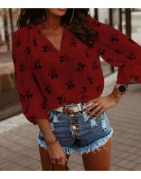 Bluza - koda 6650 - rdeča