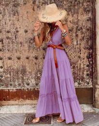 Obleka - koda 0817 - vijolična