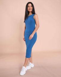 Obleka - koda 1370 - 3 - modra