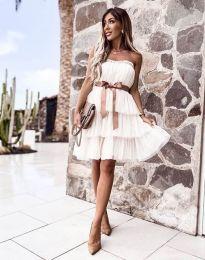Obleka - koda 3065 - bela