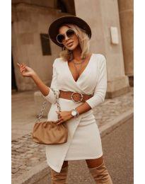 Obleka - koda 9977 - bela