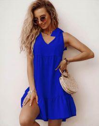 Obleka - koda 7206 - modra