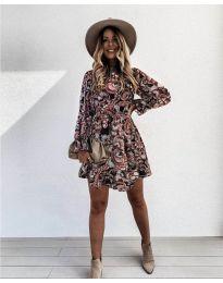 Obleka - koda 248 - 2 - večbarvna