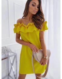 Obleka - koda 133 - rumena