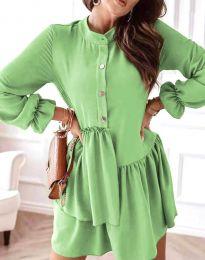 Obleka - koda 2829 - svetlo zelena