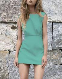 Obleka - koda 1233 - turkizna