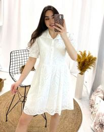 Obleka - koda 0517 - 1 - bela