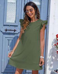 Obleka - koda 6261 - olivna