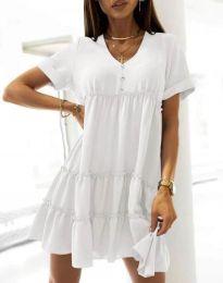 Obleka - koda 7205 - bela