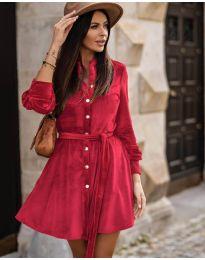 Obleka - koda 3999 - rdeča