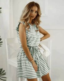 Obleka - koda 7211 - olivno zelena