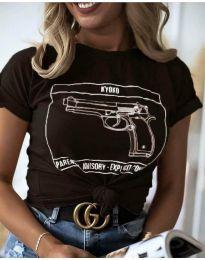 Majica - koda 3024 - črna