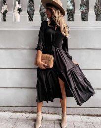 Obleka - koda 6522 - črna