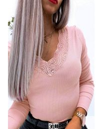 Bluza - koda 3938 svetlo roza