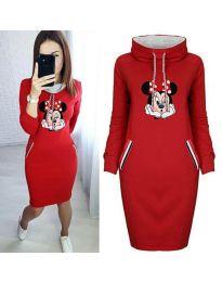 Obleka - koda 20111 - 2 - rdeča