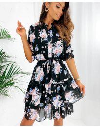 Obleka - koda 8877 - 2 - večbarvna