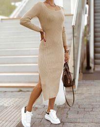 Obleka - koda 2326 - bež