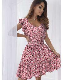 Obleka - koda 6088 - korala