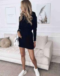 Obleka - koda 7846 - črna